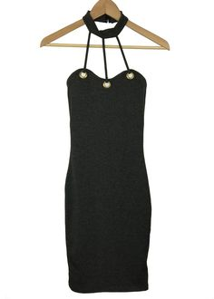 sullivan chocker bodycon dress