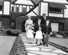 James Stewart and family