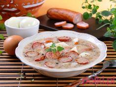 Żurek staropolski - przepis składniki i przygotowanie -Przepisy kulinarne - przepis