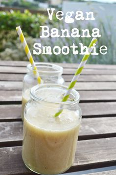 Craft Cook Love: Δυναμωτικό Vegan Smoothie Μπανάνας