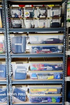 See how to organize a garage, and some ideas for garage storage in this article. You can finally have an organized garage.