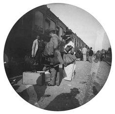 L'Orient-express en gare de Sirkeci, 1890, Paul Nadar Charenton-le-Pont, Médiathèque de l'Architecture et du Patrimoine
