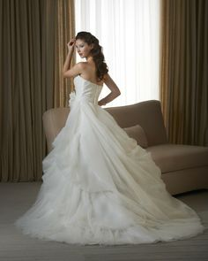 Bonny Classic wedding dress 235 [235] - $160.00 _ Cheap Wedding Dresses,Cheap prom dresses