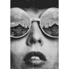 (59) vintage black and white photography. reflection sunglasses woman... ❤ liked on Polyvore featuring accessories, eyewear, sunglasses, black white sunglasses, white and black sunglasses, black and white glasses, vintage sunglasses and black and white sunglasses