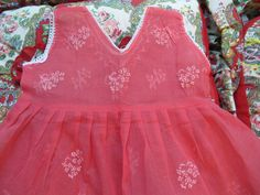 Watermelon Baby Dress 1218 Months by lishyloo on Etsy, $10.00