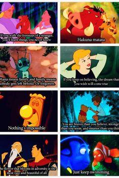 Disney motivates me.