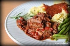 Classic Slow Cooker Entertaining: Pot Roast Italiano - MomAdvice Roast Me, Pot Roast, Quick Family Dinners, How To Eat Better, Old Recipes, Mom Advice, Slow Cooker, Main Dishes, Beef