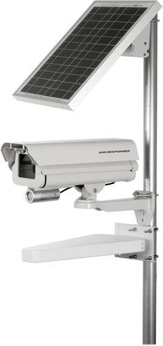 Solar Powered Wireless IP IR Camera