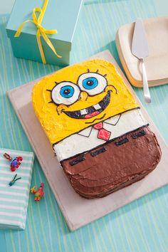 SpongeBob Birthday Cake Recipe