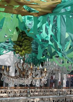 banana chandeliers design miami by gonzalo fuenmayor at faena district