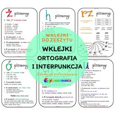 Math For Kids, Crafts For Kids, Polish Language, Dyslexia, Homeschool, Bullet Journal, Science, Exercise, Humor