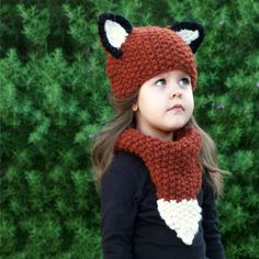 Girl's Accessories Bomhcs Cute Babys Cat Beanie 100% Handmade Knitted Kids Ears Hat For Kids Ages 3-8 Fast Color