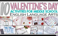 10 Valentine's Day Activities For Middle School English
