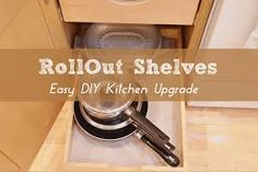 How to order and install roll out shelves for kitchen cabinets. This is a great DIY project that makes it easier to love your kitchen. Kitchen Cabinet Wine Rack, Inside Kitchen Cabinets, Kitchen Cabinet Remodel, Kitchen Cabinets Decor, Cabinet Decor, Buy Kitchen, Kitchen Cabinet Design, Kitchen Shelves, Kitchen Island