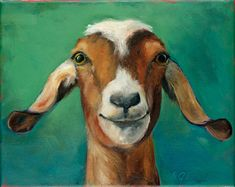 Goat pic for Harley farm art project? Art Painting, Animal Art, Animal Drawings, Art Drawings, Painting, Oil Painting, Goat Paintings, Art, Canvas Art