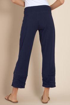 Cabana Cropped Pant - Cotton Cropped Legging, Pants, Clothing | Soft Surroundings