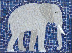 Elephant Mosaic by AmyWoodward