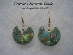 un tuto gratuit ! Mokume opale première partie