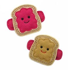 GG Designs Embroidery - Peanut Butter and Jelly FELT STITCHIES (in the hoop) (Powered by CubeCart)