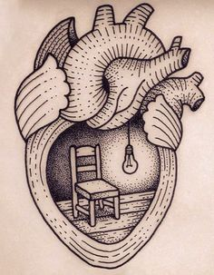 home is where the heart is - tattoo idea.