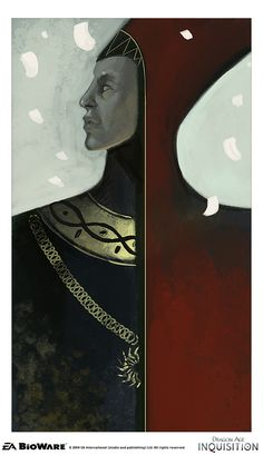 Dragon Age Inquisition - Concept art - Tarot cards ...from Nick Thornborrow's tumblr, Bioware artist