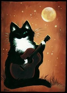 Cat Who Plays - by Nico Niemi from cat fantasy