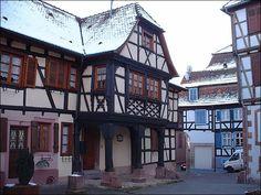 Maison du receveur des finances à Bouxwiller Strasbourg, Alsace, Versailles, Amiens, Saint Denis, Ville France, Le Village, Reims, Chapelle