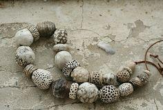 Marika Akilova, The Winter Beads | by marika-keramika