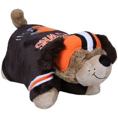 NFL Cleveland Browns Pillow Pet by Fabrique Innovations. $29.99. Cuddle and snuggle with the Cleveland Browns Pillow Pet by Fabrique! This unique and original pillow pet features your favorite team logo and colors in the shape of a mascot or unique animal.