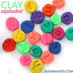 Clay Letters