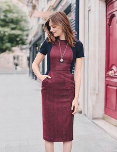 Imelda Dress WW146 Smart Day Dresses at Boden