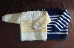 Je débute au tricot #3: les côtes 2/2 ou tricoter un pull bébé simplissime – … Callykou …