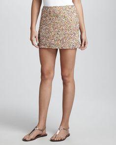 Sequin splattered skirt #CUSP