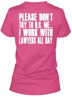 Don't BS The Paralegal