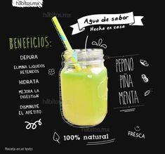 Agua de sabor hecha en casa…