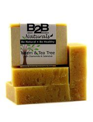 This is a wonderfully smooth and luxurious premium bar of soap. We have combined the healing properties of Neem and Tea Tree with nourishing oils and soothing Chamomile and Calendula Flowers. In addition, it contains pure essential oils widely known for their antibacterial and skin healing properties. It has quickly become a favorite for those with acne, eczema, dermatitis, and other skin conditions. It has a deep, earthy, almost medicinal scent due to the addition of a generous amount of...