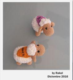 #amigurumi #oveja Crochet Necklace, Jewelry, Sheep, Amigurumi, Crochet Collar, Jewels, Schmuck, Jewerly, Jewelery