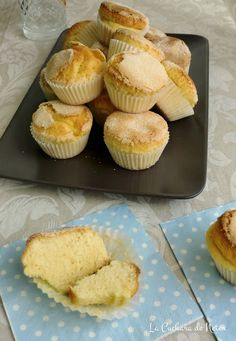 Magdalenas de anís Cupcakes, Bread Machine Recipes, No Cook Meals, Cake Pops, My Recipes, Muffins, Bakery, Eat, Cooking