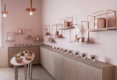 Pareti rosa antico in una casa da tè mozzafiato - Elle Decor Italia