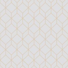 Graham & Brown Myrtle Geo Grey and Rose Gold Removable Wallpaper Sample-10415894 - The Home Depot