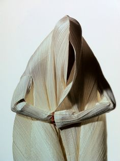 Issey Miyake photographed by Irving Penn.