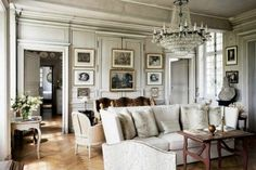 The Gustavian Interior Style: described as a cleaner more restrained interpretation of the French Louis XV and Louis XVI style of furniture design. Gustavian furniture often reflects simpler design and execution, while maintaining a humble yet royal character.