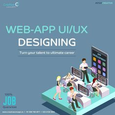 Join Weekend Batches for Web-APP UI/UX Designing.  http://creativeconcept.co/courses.html