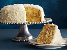 Ina's Coconut Cake Recipe : Need a special-occasion dessert? Ina's coconut cake is heaven on a plate!