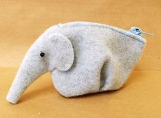 """How to Sew Purse """"Elephant"""". Photo Sewing Tutorial."""