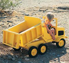 Dump Truck Woodworking Plan