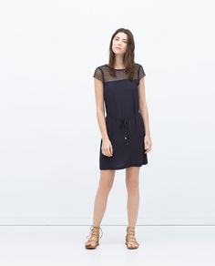 ZARA - NEW THIS WEEK - COMBINED DRESS