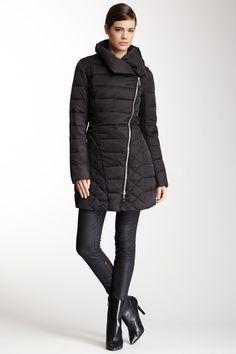 Kenneth Cole Asymmetrical Zip Front Down Jacket on HauteLook