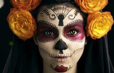 Dia De Los Muertos costume. Next year, maybe :)