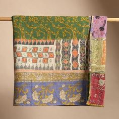 One of a Kind Gudari Quilt from Sundance Catalogue